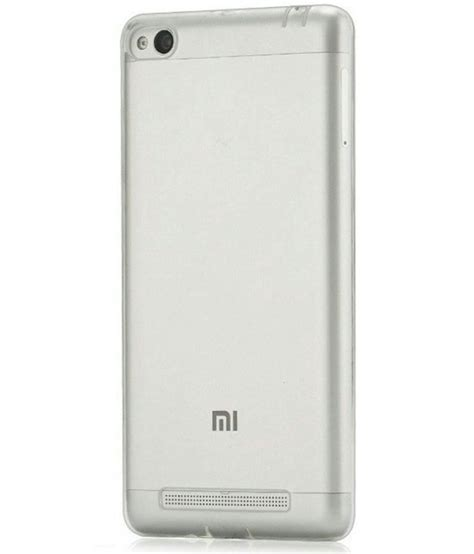 Xiaomi Redmi 4a Soft Shinning Chrome Xiaomi Redmi 4a Softcas xiaomi redmi 4a soft silicon cases galaxy plus transparent plain back covers at low