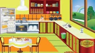 Kitchen Cartoon by Cartoons Movies Kids Cleans Kitchen Game Video 2013
