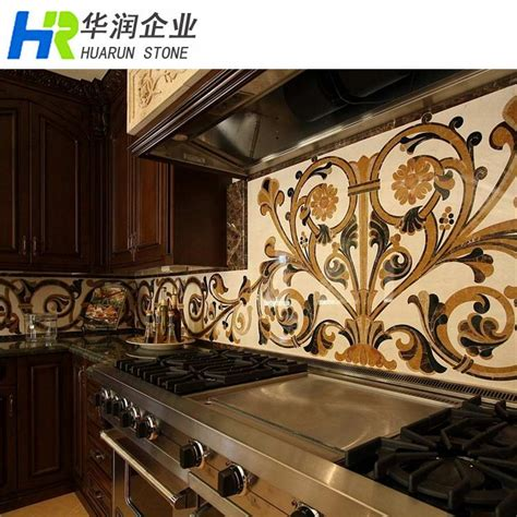 backsplash medallions kitchen marble tile medallion kitchen backsplash buy tile