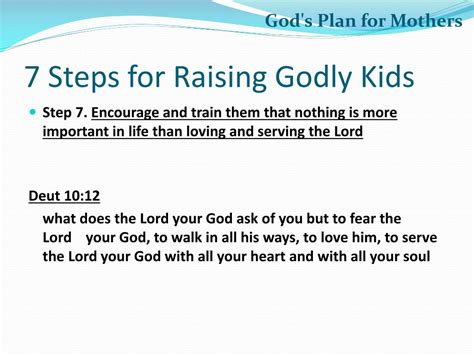 gods plan  mothers powerpoint  id