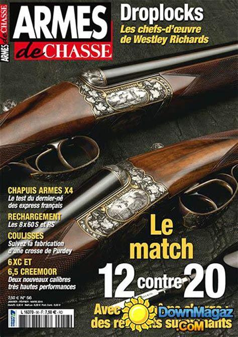 armes de chasse janvierfevriermars