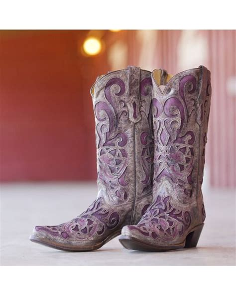 1000 ideas about purple cowboy boots on rodeo