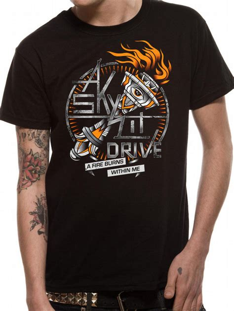 a skylit drive a burns within me t shirt buy a