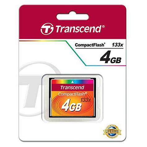 Memory Card Transcend 4gb transcend 4gb 133x compact flash memory card memory and storage transcend at unique photo