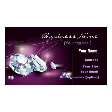 business card templates jewelry free jewelry business card template zazzle