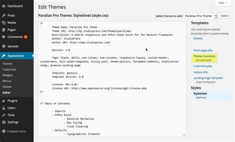wordpress theme editor mac genesis html5 quot return to top quot tutorial gt victorfont com