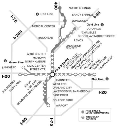 marta station map marta station map marta guide