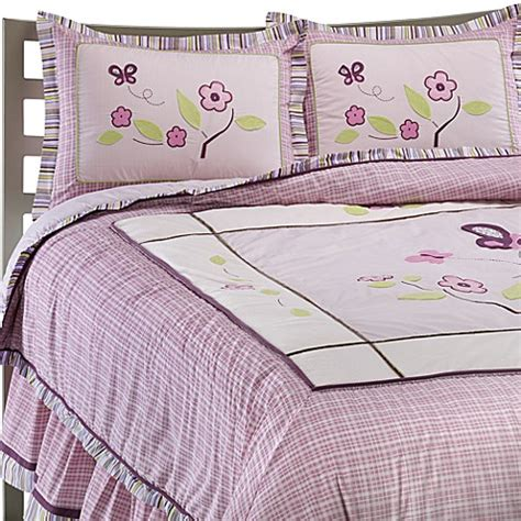 Cocalo Sugar Plum Twin Bed Skirt Bed Bath Beyond Cocalo Sugar Plum Bedding