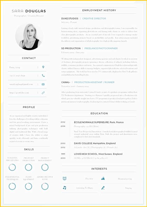 Modern Resume Templates by Free Modern Resume Templates Microsoft Word Modern