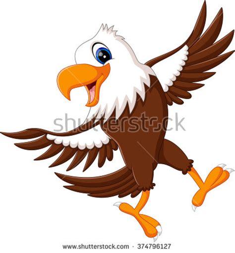cartoon eagle wallpaper cartoon eagle stock vectors vector clip art