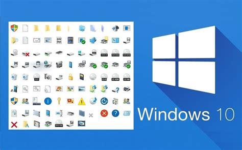 imagenes del sistema operativo windows 10 como cambiar o personalizar los iconos de windows 10