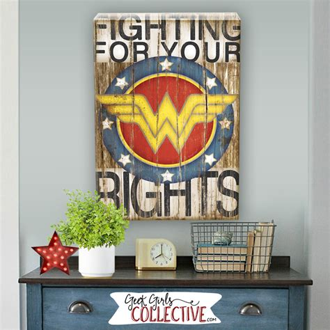 wonder woman home decor wonder woman art print comic art vintage home wall decor