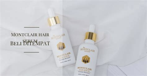 mengatasi kebotakan montclair hair serum