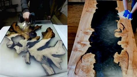 top   awesome solid wood tables  resin epoxy