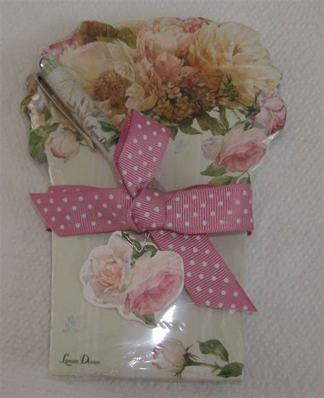 Cottage Gifts by Cottage In Bloom Matching Notepad Pen 22052 Gifts