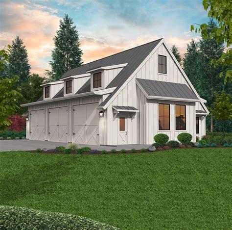 polly detached garage plan  mark stewart home design