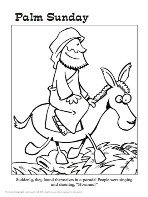 easter story coloring pages for preschoolers 69 best images about palm sunday on maze