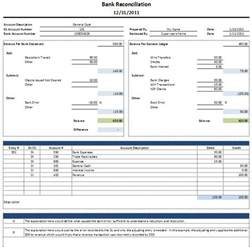 bank reconciliation template uk free excel bank reconciliation template