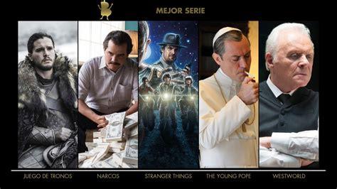 Things Y Westworld Entre Los Nominados A Los Critics Choice Awards 2017 161 Ya Tenemos La Lista De Nominados A Los Blogos De Oro 2017 Los Lunes Seri 233 Filos