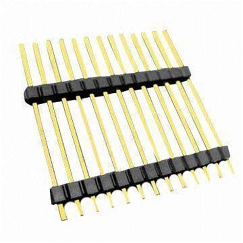 Pcb Header 5 Pin Molex 0022284050 taiwan 2 54mm board to board pcb connector with 3 current rating and 5 000m ohms insulation