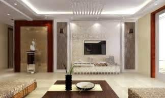 Agréable Idee Deco Cuisine Ouverte Sur Salon #7: Interieur-salon-design-moderne-faux-plafond-idee.jpg