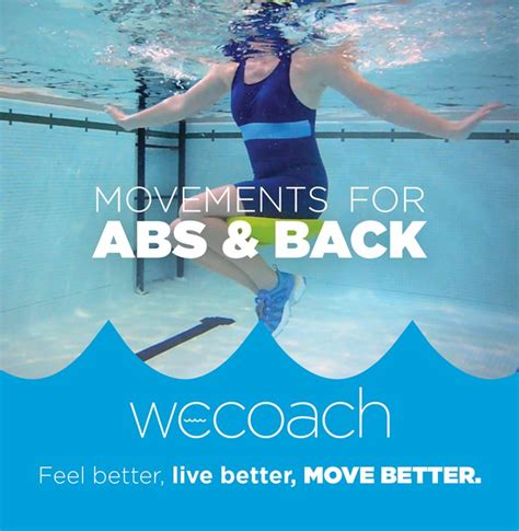 movements for abs back exercise dvd exercise products back exercises pool workout exercise