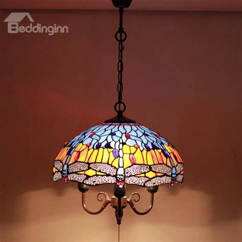 leaded glass ceiling light with flower pattern 17 quot wide 3r stained glass ceiling l pattern stained glass hanging