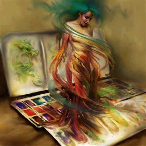 show de painting steve de la mare s painting based on theme pandora
