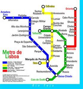 Lisbon Subway Map by User Montrealais Metro Maps Wikipedia