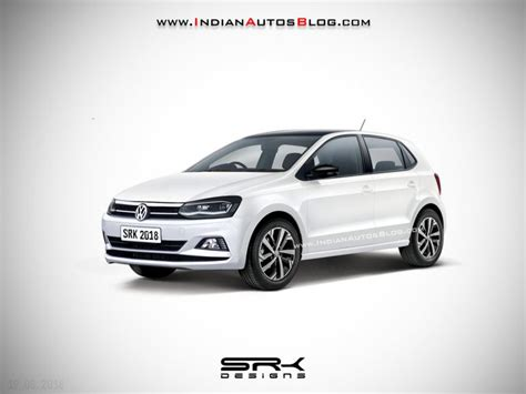 2019 Volkswagen Polos by 2019 Vw Polo Facelift Iab Rendering