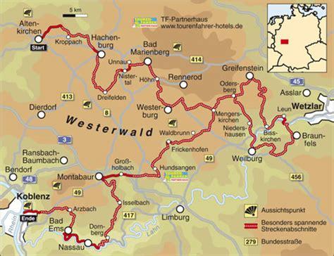 Motorrad Online Karte by Traumstra 223 En Westerwald Info Karte Tourenfahrer Online