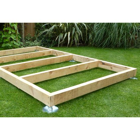 Timber Shed Base by What Is The Best Shed Base Shedsfirst