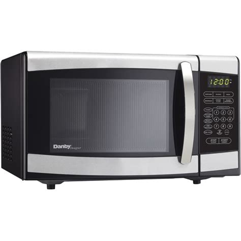 Walmart Toaster Ovens Stainless Steel Microwave Emerson 9 Cu Ft Stainless