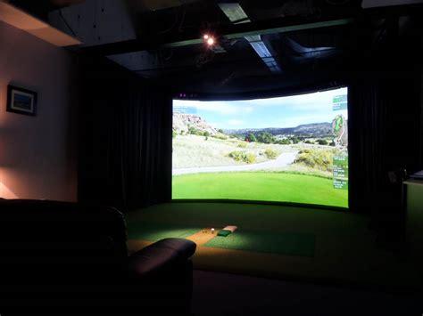 indoor golf simulator hd and full swing latest news high definition golf simulators