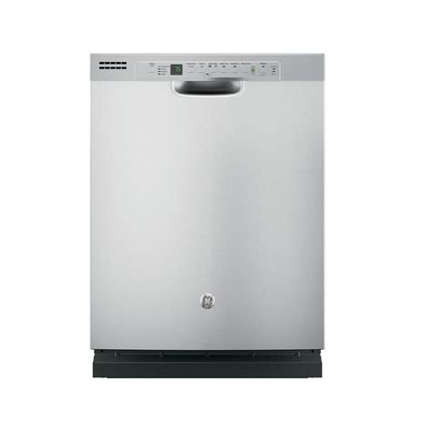 Cleaning Stainless Steel Dishwasher Interior by Ge Front Dishwasher In Stainless Steel With Hybrid