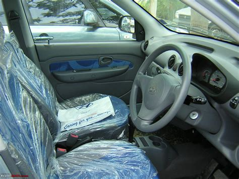 Santro Car Interior by Took Delivery Hyundai Santro Xing At Space Silver