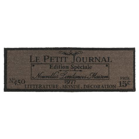 Maison Du Monde Zerbini by Zerbino In Fibra Di Cocco 40 X 120 Cm Petit Journal