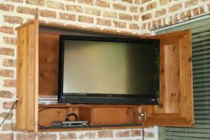 outdoor cabinets for patio outdoor tv cabinet for the patio my diy projects