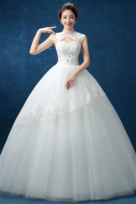 White Wedding Gown Shopping by Evening Dresses Shopping India