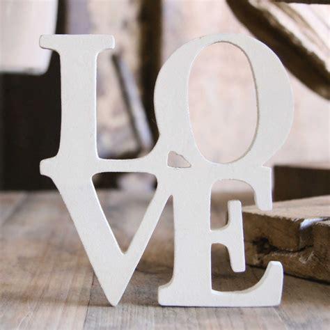 imagenes de love en letras palabra love en madera ocompras