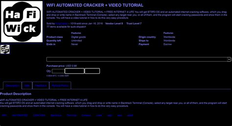 tutorial hack deep web wi fi hacking software is sold under 1 on dark web