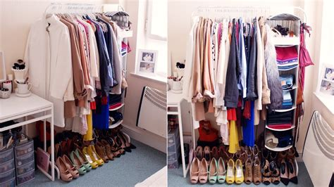 may i please see your closet clothing home decorating my open closet wardrobe interior youtube