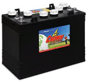 Used Car Batteries For Sale In Usa Crown Gc155 Golf Cart Cycle Battery 12 Volt Big O