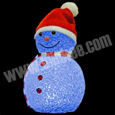 color changing snowman holiday decoration blinkys