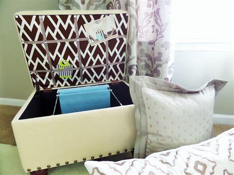 diy storage ottoman diy file storage ottoman be my guest with