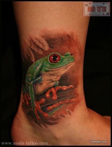 edmonton dog tattoo frog tattoo on the ankle tats pinterest ankle