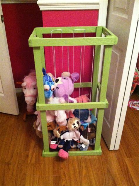 stuffed animal storage ideas create    zoo
