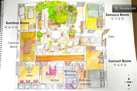 hanok house floor plan bukchon hanok book homes in korea