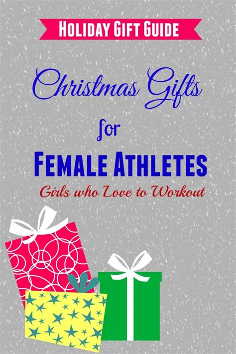 holiday gifts for sports woman girls gift blog