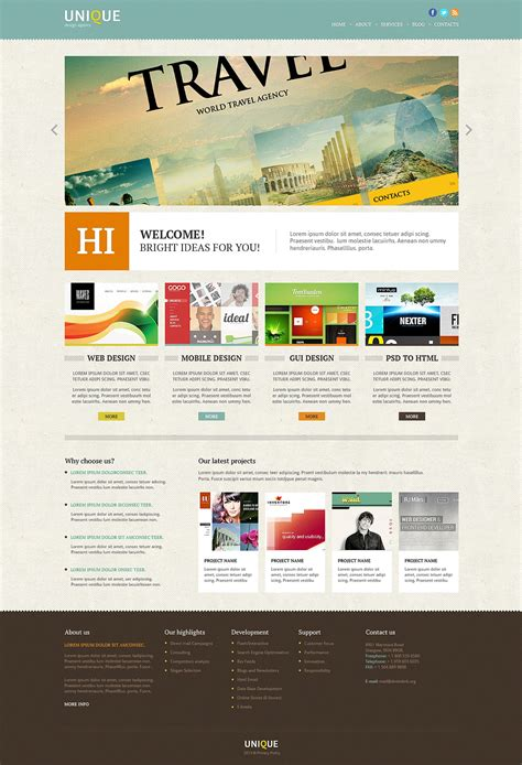 joomla template design software joomla template 46833 in web design category